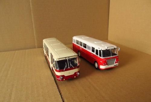 Liaz 677 & Ikarus 620