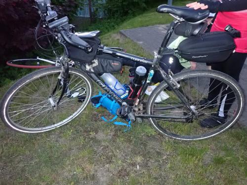 Rowery uczestników: Łukasz