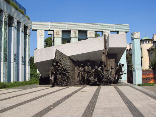 Warszawa, Pomnik Powstania Warszawskiego
