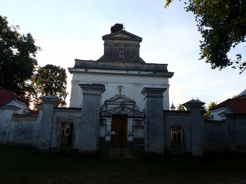 """Chwalęcin-sanktuarium z ,,czarnym krucyfiksem"""""""