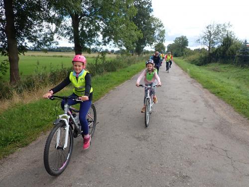 Młode rowerzystki i już prawie blogerki ;-)