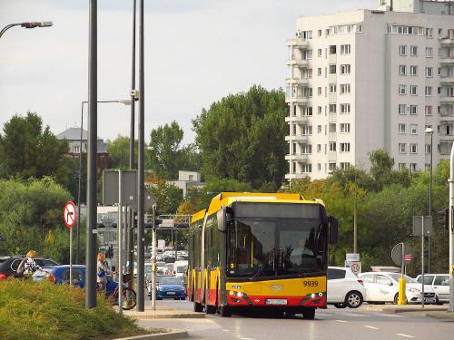 SU18 IV CNG , #9939, Arriva Bus Transport Warszawa