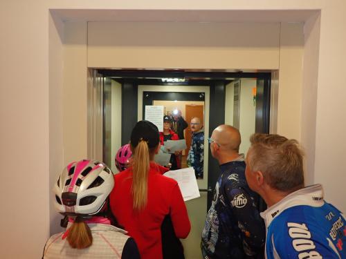 Zajrzeliśmy też do windy